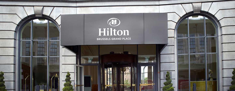 Hôtel Hilton Brussels Grand Place, Belgique - Extérieur de l'hôtel Hilton Brussels Grand Place