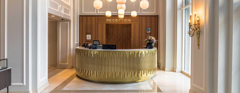 Hôtel Hilton Brussels Grand Place, Belgique - Réception