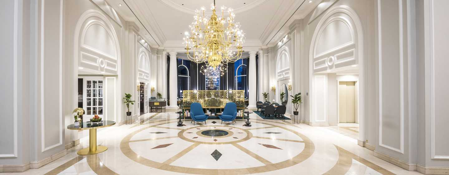 Hilton Brussels Grand Place hotel, België - Lobby