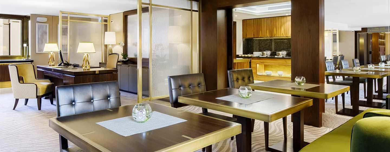 Hotel Hilton Budapest, Maďarsko – Executive Lounge