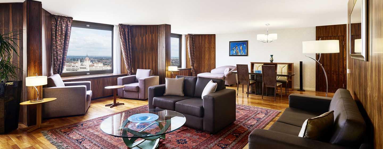 Hotel Hilton Budapest, Maďarsko – Prezidentské apartmá