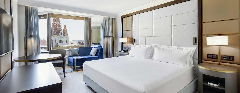 Hotel Hilton Budapest, Maďarsko – Pokoje Superior a Executive