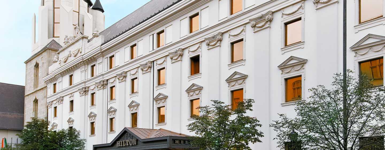 Hotel Hilton Budapest, Maďarsko – Historická fasáda hotelu Hilton Budapest