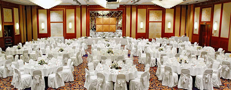 Hotel Hilton Budapest, Maďarsko – Konferenční místnost Anjou – Slavnostní večeře