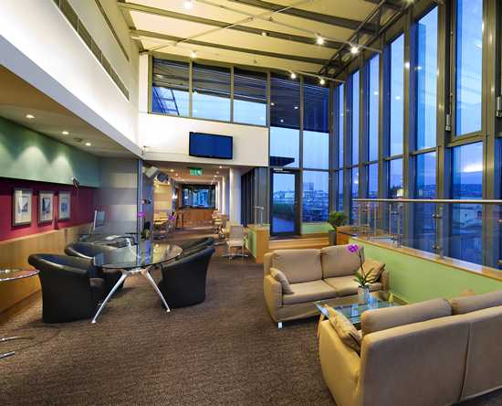 Hilton Budapest City Hotel, Ungarn – Executive Lounge