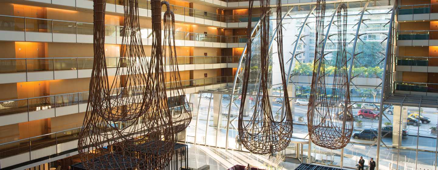 Hotel Hilton Buenos Aires, Argentina - Lobby del hotel