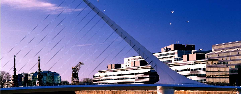 Hotel Hilton Buenos Aires, Argentina - Vista de la fachada del hotel
