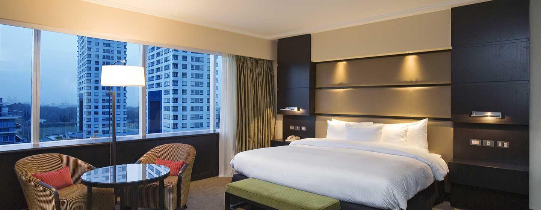 Hotel Hilton Buenos Aires, Argentina - Dormitorio de la Suite Ejecutiva
