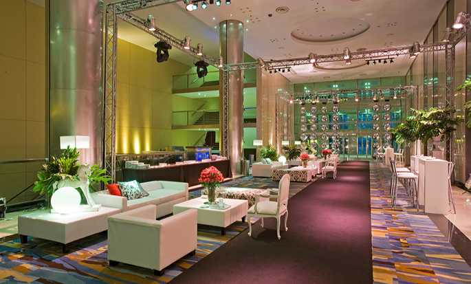 Hotel Hilton Buenos Aires, Argentina – Foyer