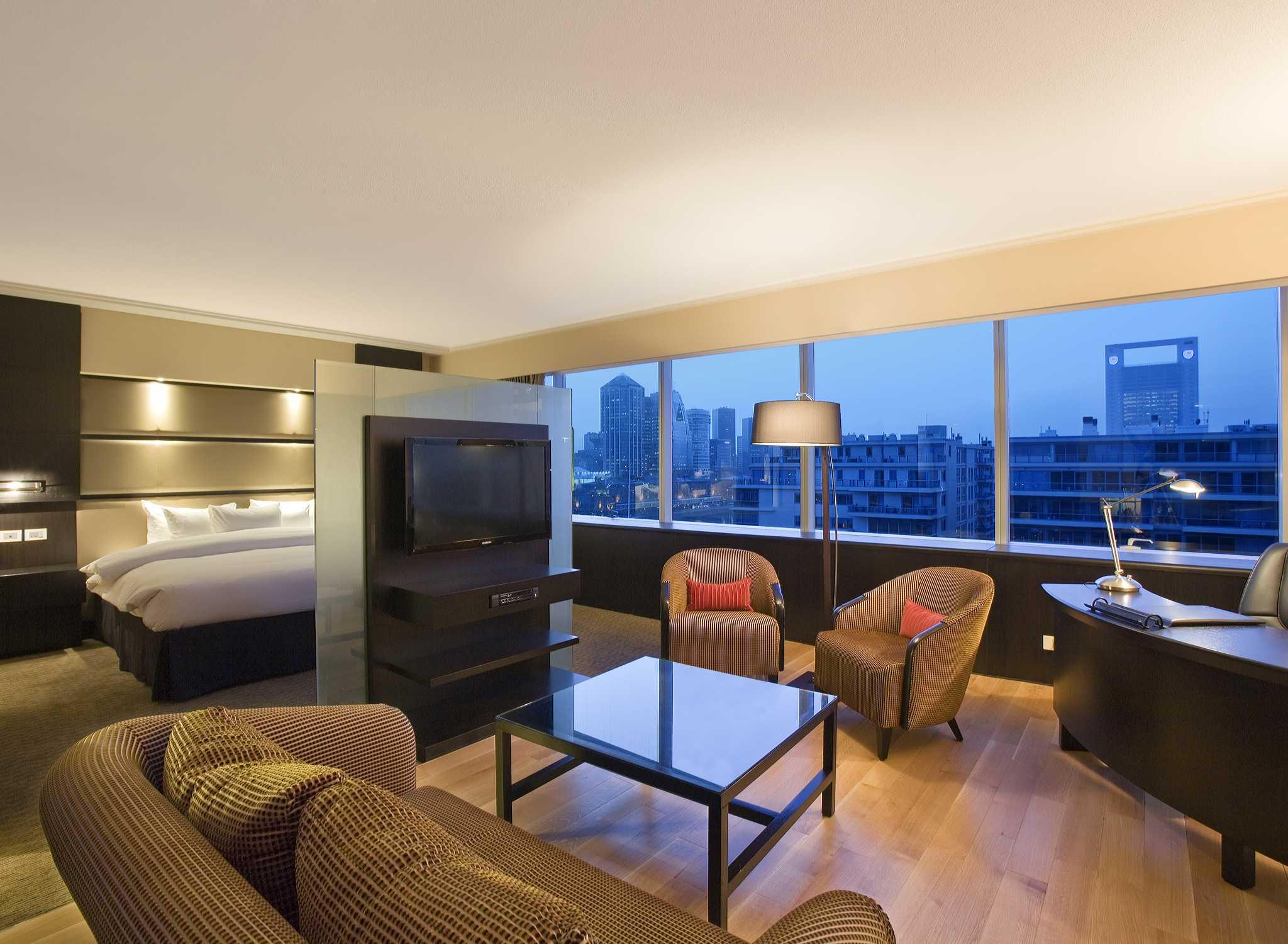 Hoteles en buenos aires hotel hilton buenos aires en puerto madero - Decoracion habitacion hotel ...