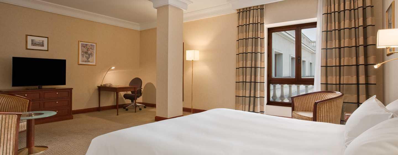 Hotelul Athénée Palace Hilton București, România - Cameră de oaspeți Deluxe
