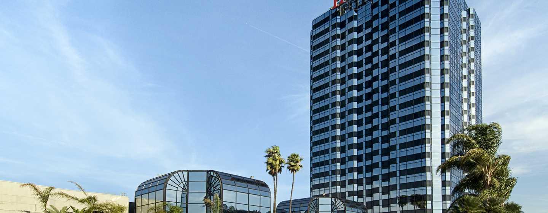 Hilton Los Angeles/Universal City, EE.UU., fachada del hotel