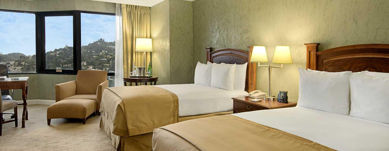 Hilton Los Angeles-Universal City, USA – Standard Zimmer mit Doppelbett
