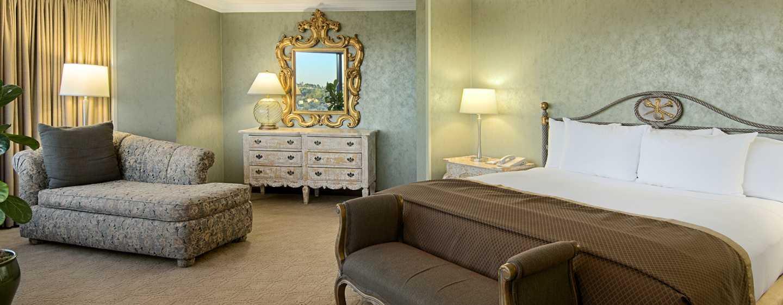 Hilton Los Angeles-Universal City, USA – Schlafzimmer der Director Suite