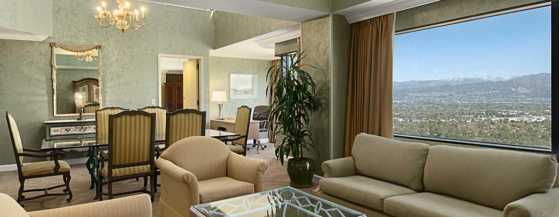 Hilton Los Angeles-Universal City, USA – Wohnzimmer der Diplomat Suite