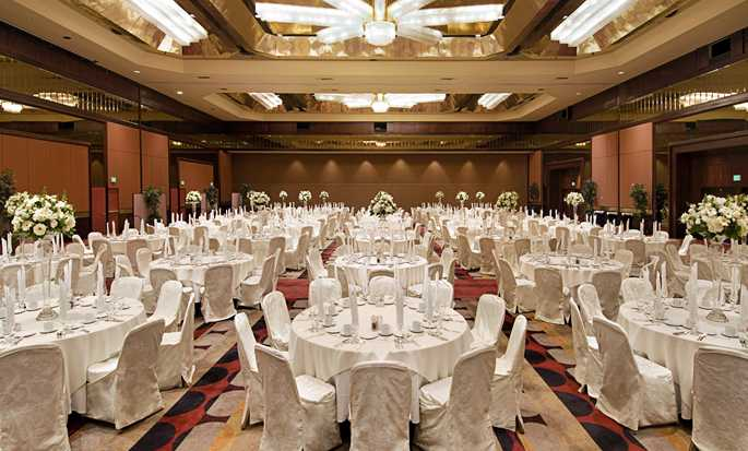 Hilton Los Angeles-Universal City, USA - Ballroom in formal set up