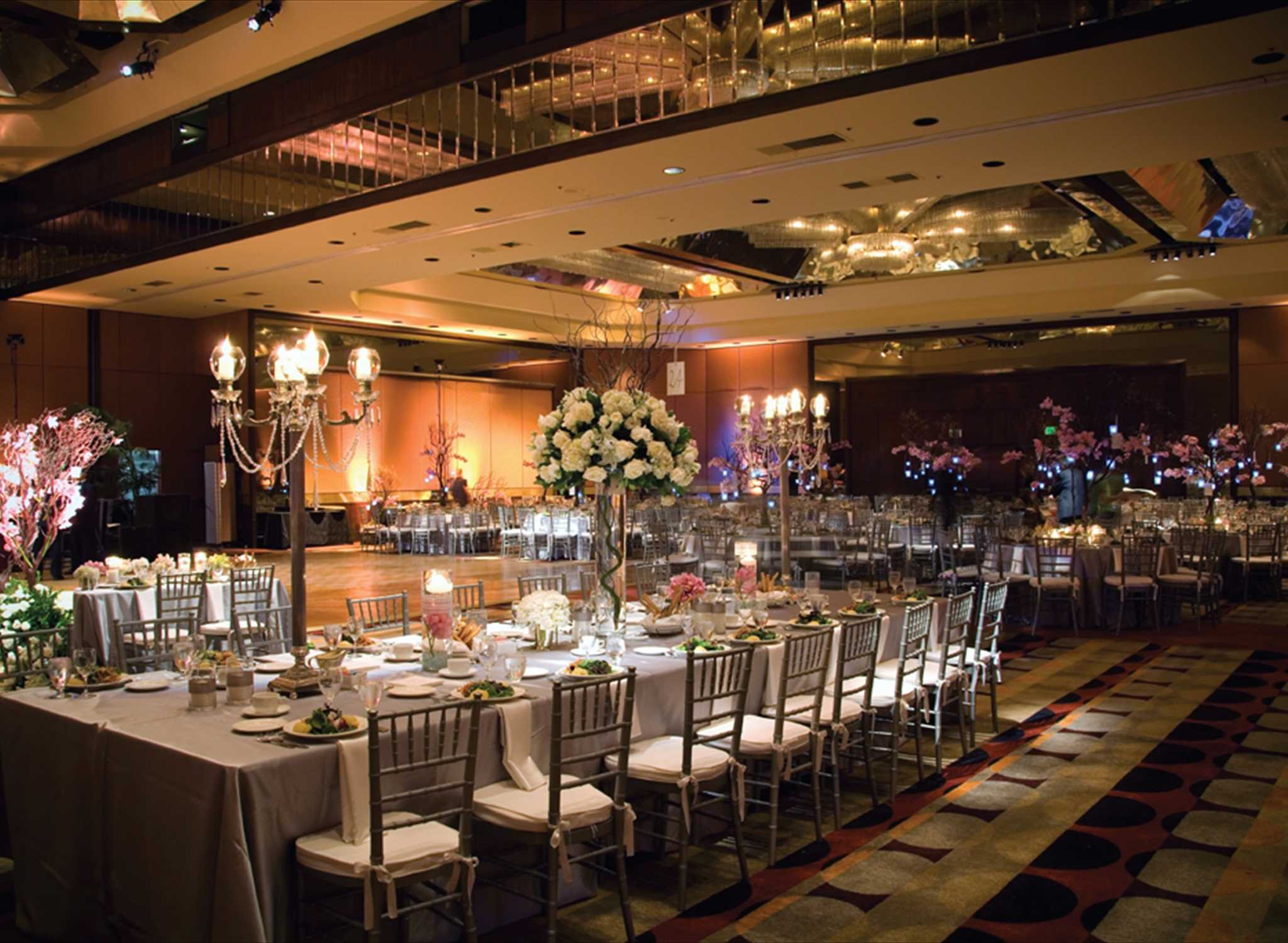 Hilton Los Angeles-Universal City, USA - Ballroom in special occasion set up