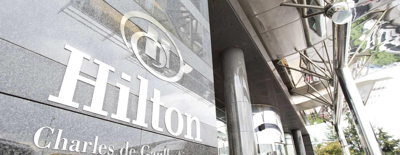 Hilton Paris Charles de Gaulle Airport hotel, Frankrijk - Buitenkant hotel