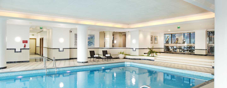 Hilton Paris Charles de Gaulle Airport hotel, Frankrijk - Binnenzwembad