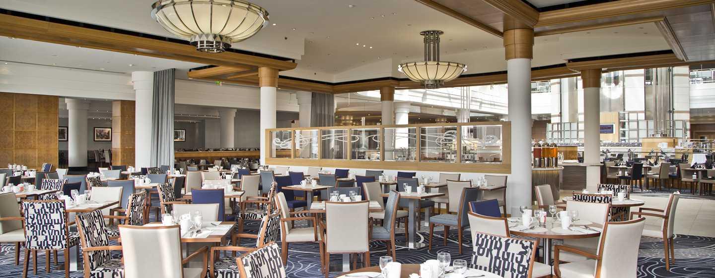 Hilton Paris Charles de Gaulle Airport hotel, Frankrijk - Restaurant Le Skylight