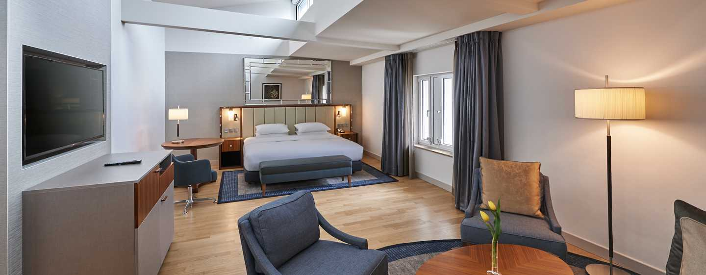 Hilton Cologne, Duitsland - Junior suite