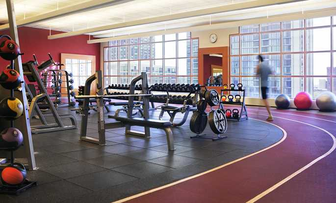 Hilton Chicago, Illinois - Gimnasio