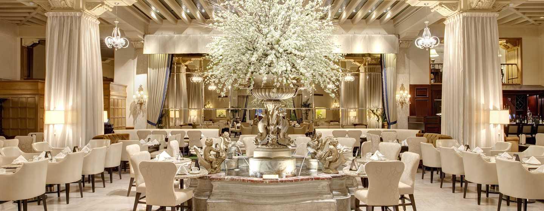 The Drake Hotel, Chicago, EUA - Palm court