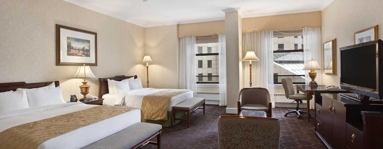 The Drake Hotel, Chicago, EUA - Quarto com cama dupla