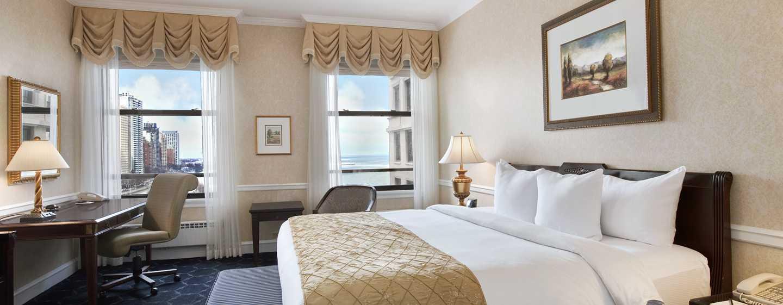 The Drake Hotel, Chicago, EUA - Quarto King