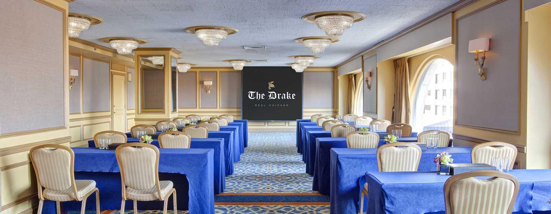The Drake Hotel, Chicago, EUA - Sala de reuniões