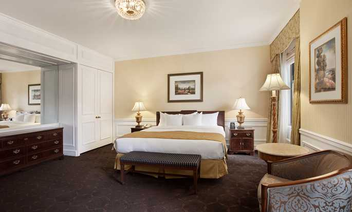Hotel The Drake, Chicago, Estados Unidos - Sala de estar de la suite Gold Coast de Chicago