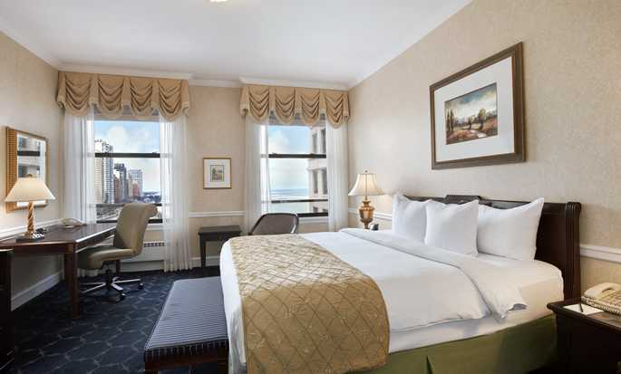 The Drake Hotel, Chicago, USA – Zimmer mit King-Size-Bett