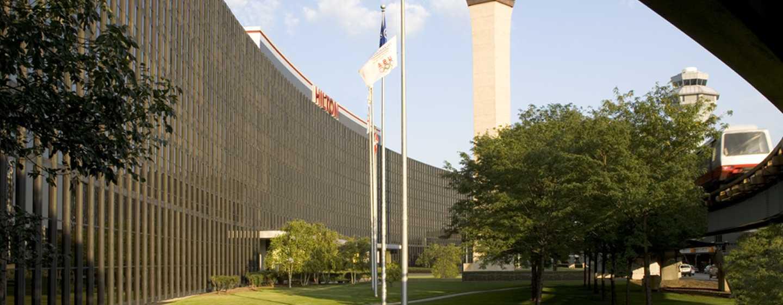 Hilton Chicago O'Hare Airport, EE. UU. - Fachada del hotel
