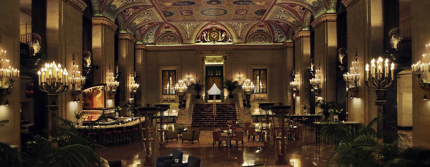 Palmer House® A Hilton Hotel, Chicago, Illinois – Hall de l'hôtel