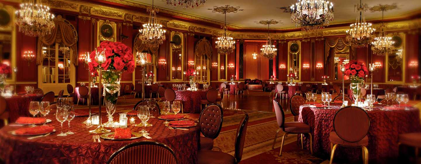 Palmer House® A Hilton Hotel, Chicago IL – Red Lacquer Room