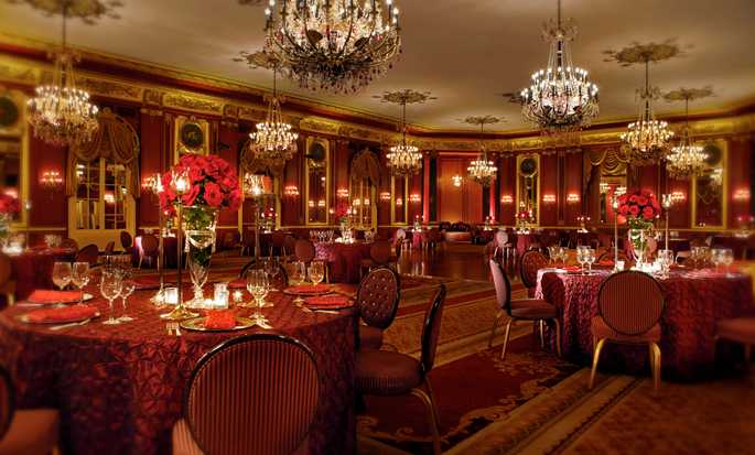 Palmer House® A Hilton Hotel, Chicago IL - Salle The Red Lacquer