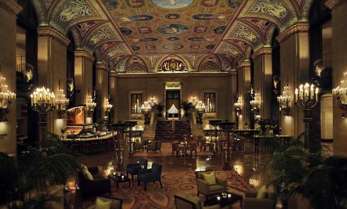 Palmer House® A Hilton Hotel, Chicago IL - Somptueux hall