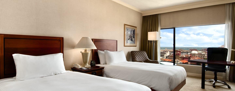 โรงแรม Hilton Colombo ศรีลังกา - ห้องพักโรงแรม เตียงคู่