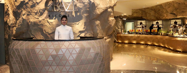 โรงแรม Hilton Colombo ศรีลังกา - ห้องอาหาร Graze Kitchen