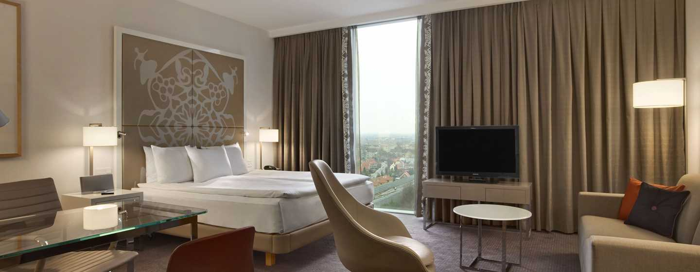 Hilton Copenhagen Airport hotel, Denemarken - Executive Plus kamer met kingsize bed