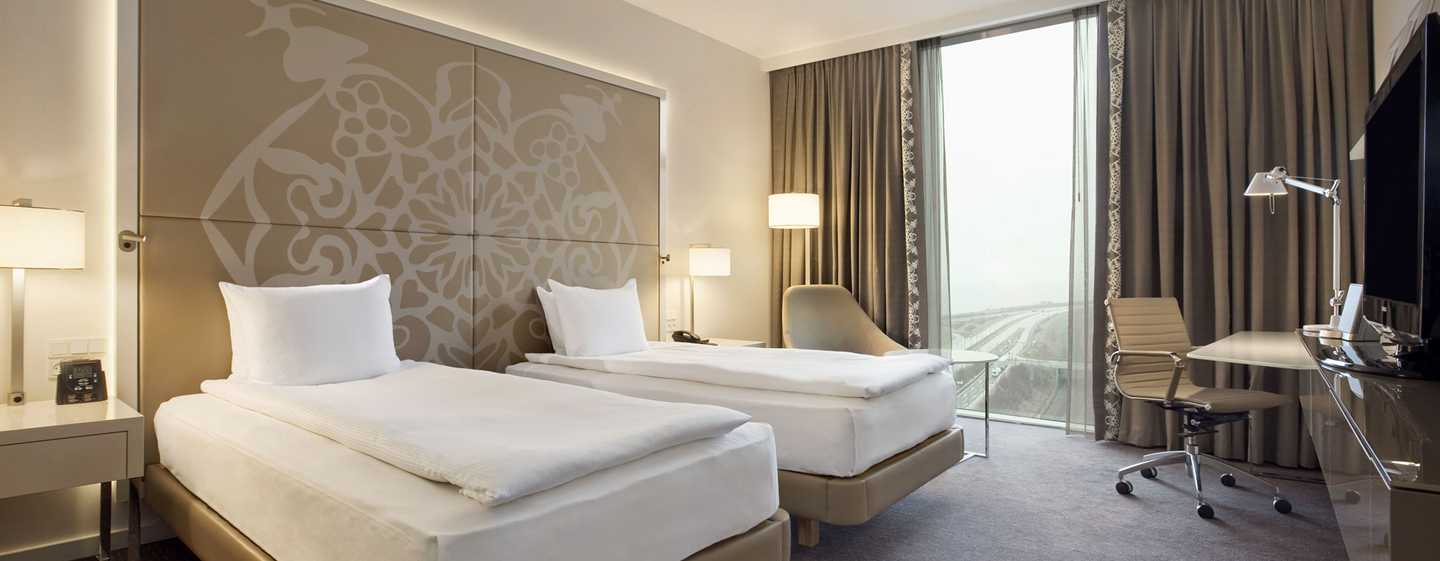 Hilton Copenhagen Airport hotel, Denemarken - Executive kamer met kingsize bed