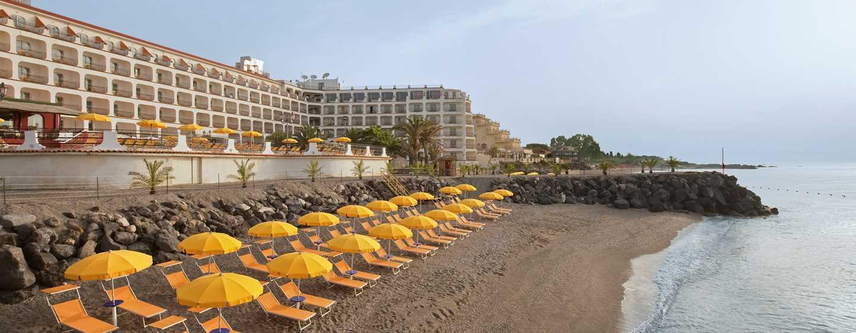 Hilton Giardini Naxos, Italien – Außenbereich des Hotels
