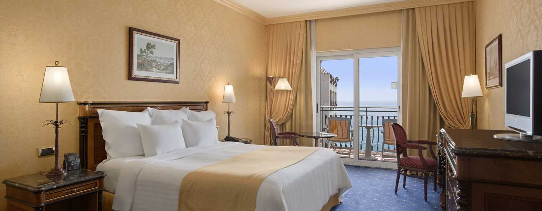 Hilton Giardini Naxos, Italien – Zimmer mit King-Size-Bett
