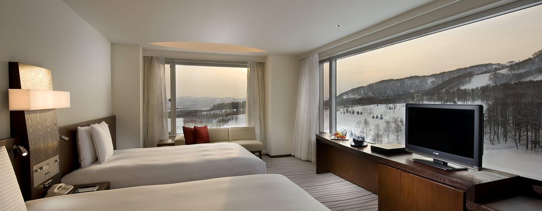 โรงแรม Hilton Niseko Village ญี่ปุ่น - ห้องทวินดีลักซ์วิวพาโนรามา