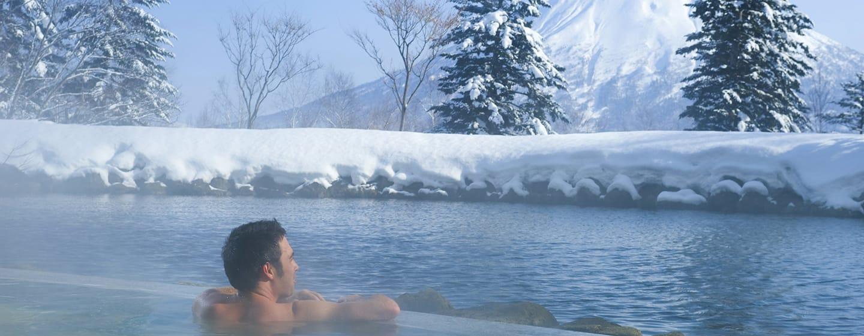 โรงแรม Hilton Niseko Village ญี่ปุ่น - น้ำพุร้อน