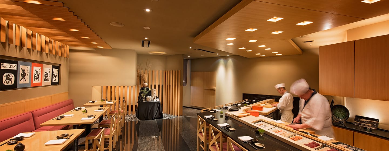 โรงแรม Hilton Niseko Village ญี่ปุ่น - ร้านซูชิญี่ปุ่น Rera