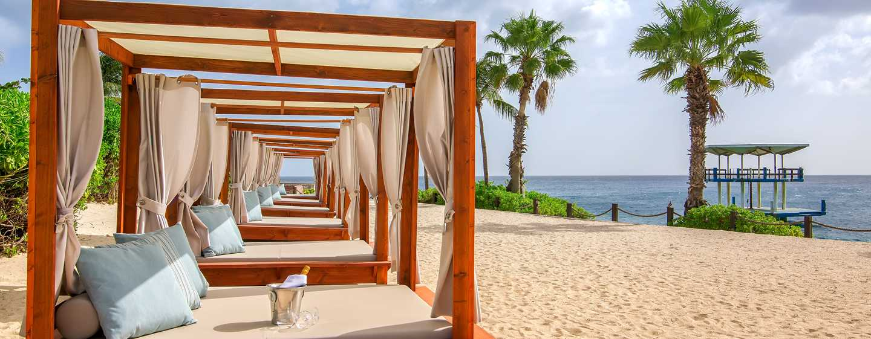 Hilton Curaçao Hotel, Curaçao - Strandcabines