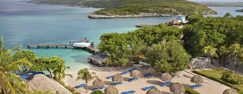 Hilton Curaçao Hotel, Curaçao - Strandoverzicht