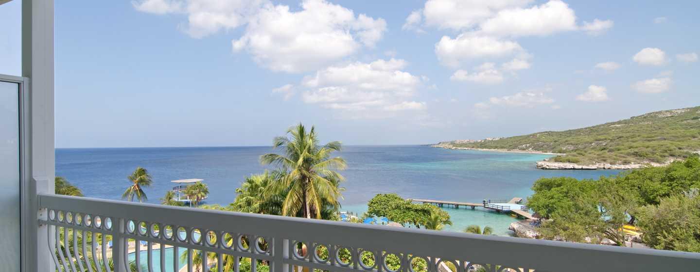 Hilton Curaçao Hotel, Curaçao - Uitzicht op oceaan vanuit kamer