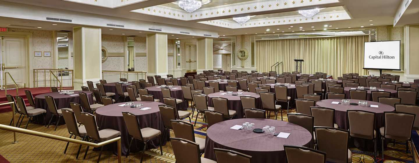 Capital Hilton Hotel, Washington D.C., USA – Congressional Raum